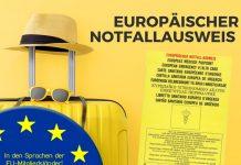 EU-Notfallausweis