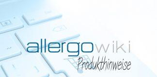 ALLERGOwiki - Produkthinweise